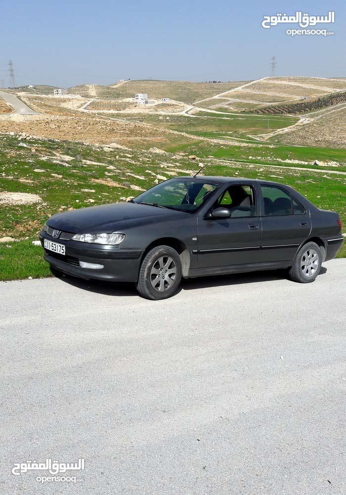 بيجو 406 2001 موتور 1800 جير عادي اللون رمادي ...