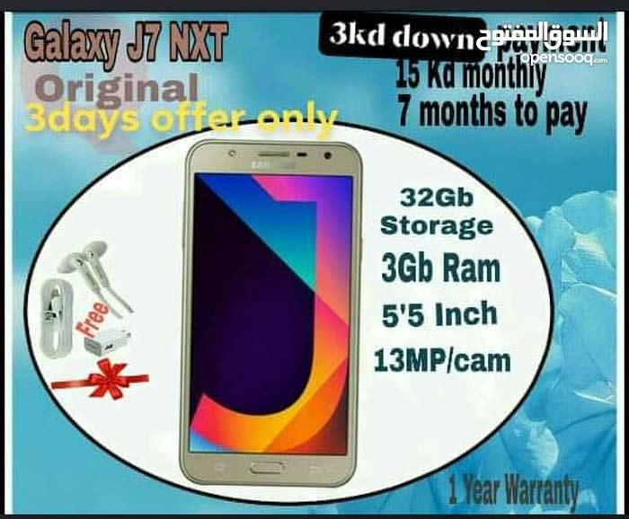 J7 next installment 3 kd Down payment 3 days offer