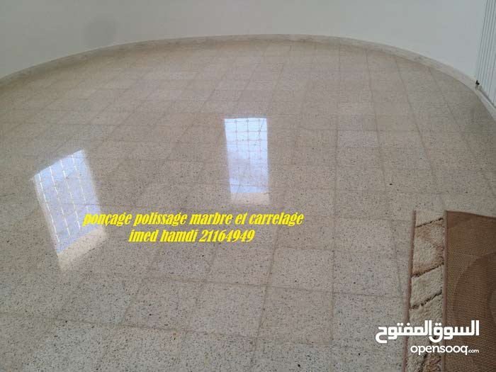 lustrage marbre carrelage nettoyage parterre