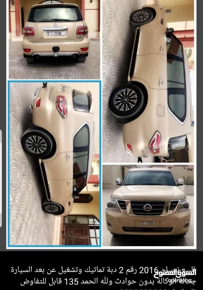 Nissan Patrol 2016 for sale in Sharjah