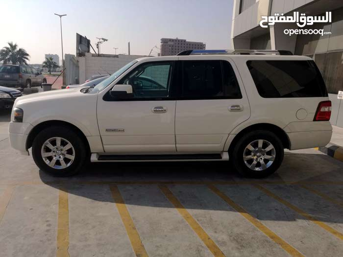 White Ford Expedition 2007 for sale