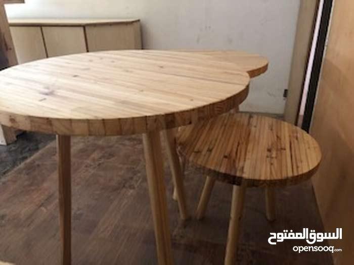 نظراً للإقبال الكبير جعلنا التوصيل مجاني طاولات جديدة ذات منظر مميز وسعر رائع - منجرة كي فلاي