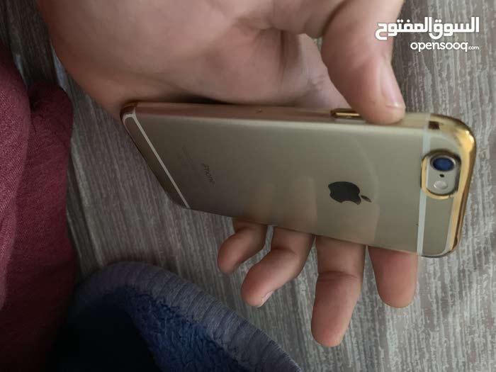 ايفون 6 ذهبي استخدام بسيط نظيف
