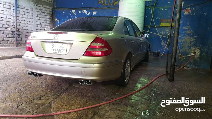 Mercedes Benz E500 car for sale 2008 in Tripoli city