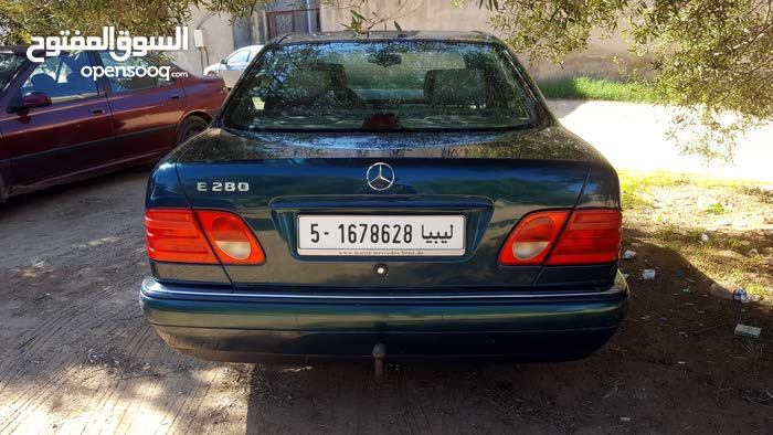 For sale 1998 Green E 280