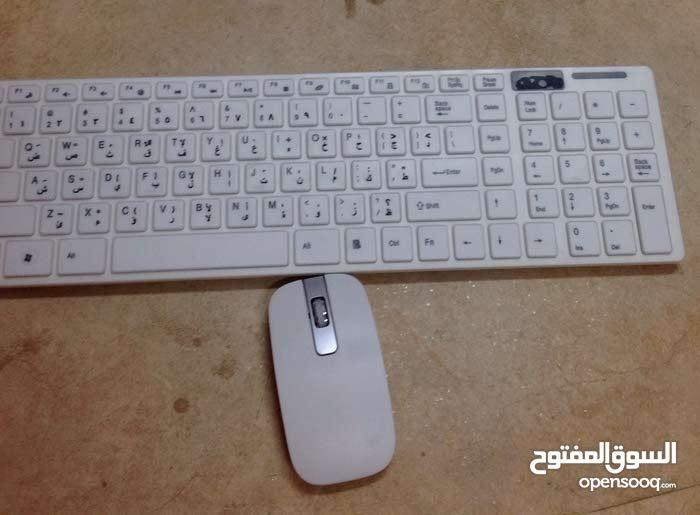 لوحة مفاتيح اللاسلكية keyboard والفأرة