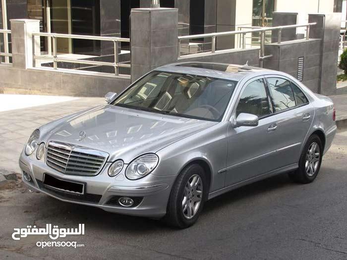 سيارة مرسيدس بنز E 200 (إليجانس/ كومبريسر) elegance kompressor موديل: 2007 للبيع