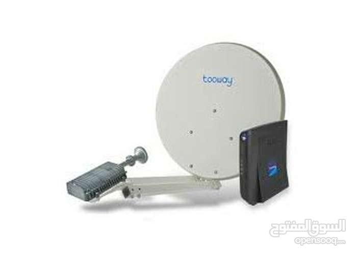 جهاز تو واي (toway) صحن + راوتر للبيع