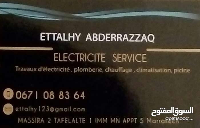 auto entrepreneur électricité service Marrakech
