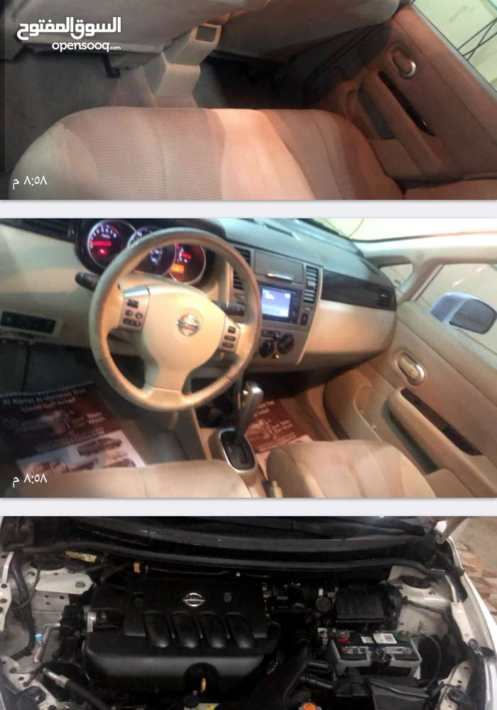 Nissan Versa 2011 For sale - White color