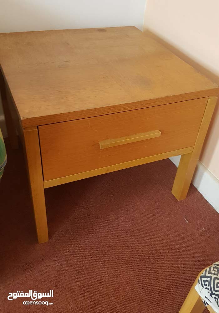 large side tables with drawer 2 pcs