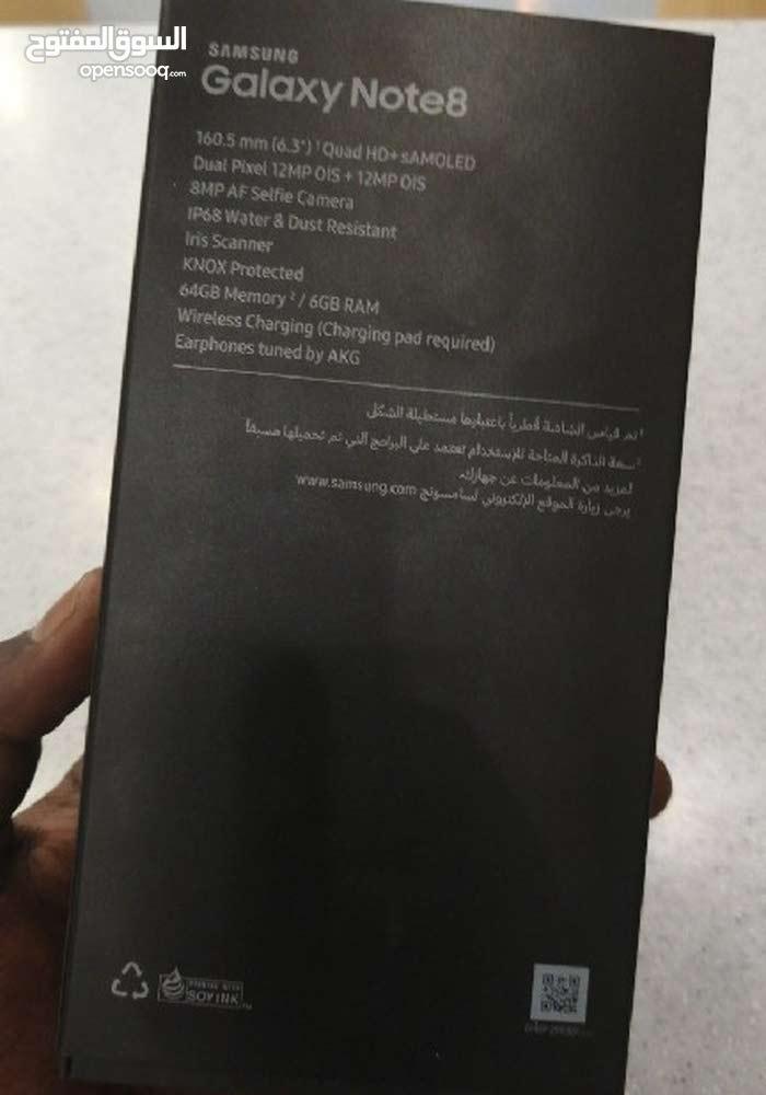سامسونج نوت 8 جديد سعودي