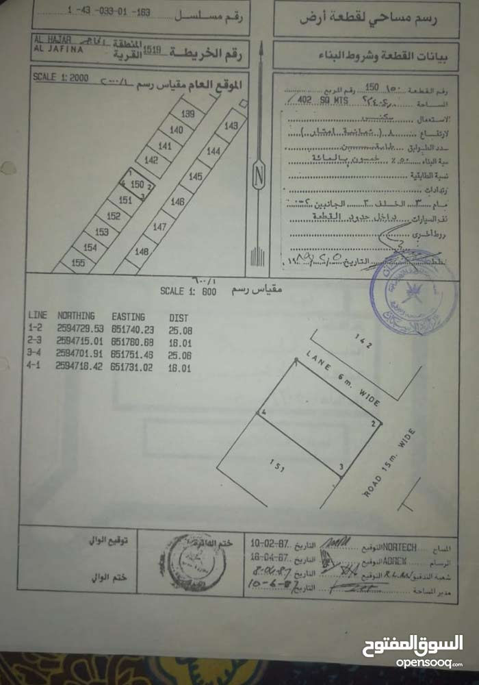 neighborhood Muscat city - 500 sqm house for sale