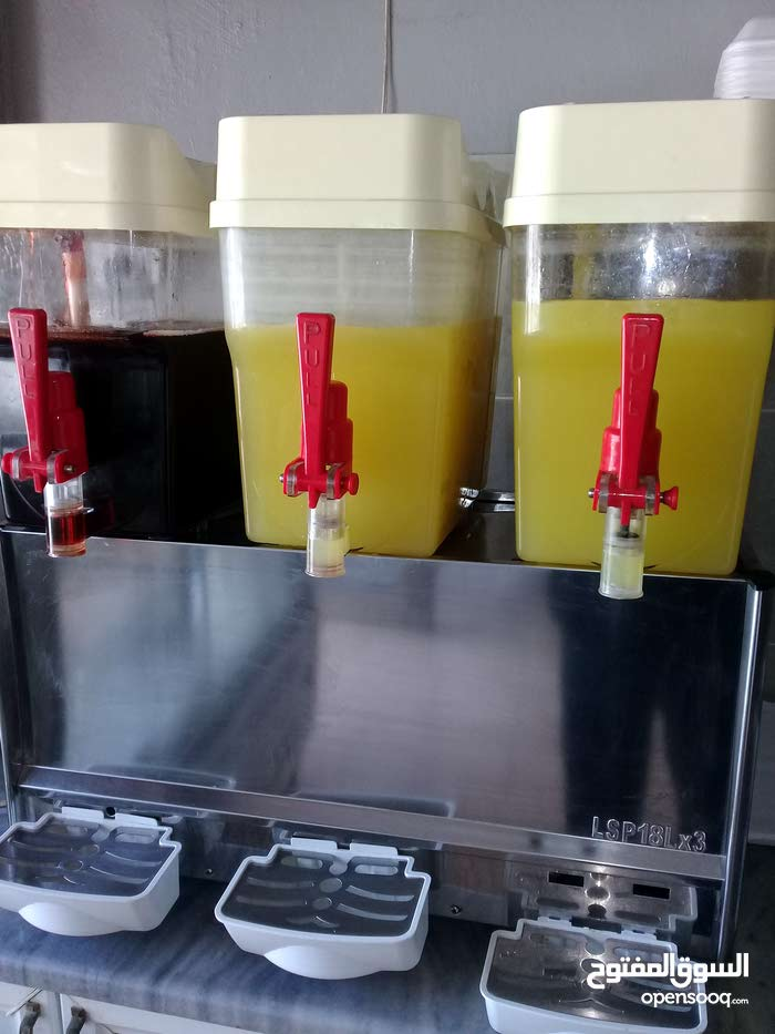 ماكينة عصير للبيع المفرق