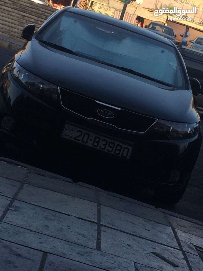 Manual Black Kia 2010 for sale