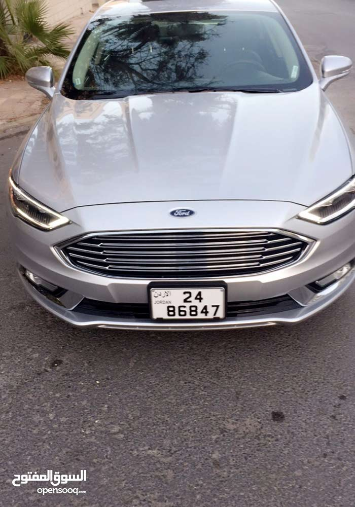 Ford Fusion 2017 - Used