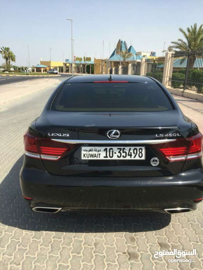 Black Lexus LS 2014 for sale