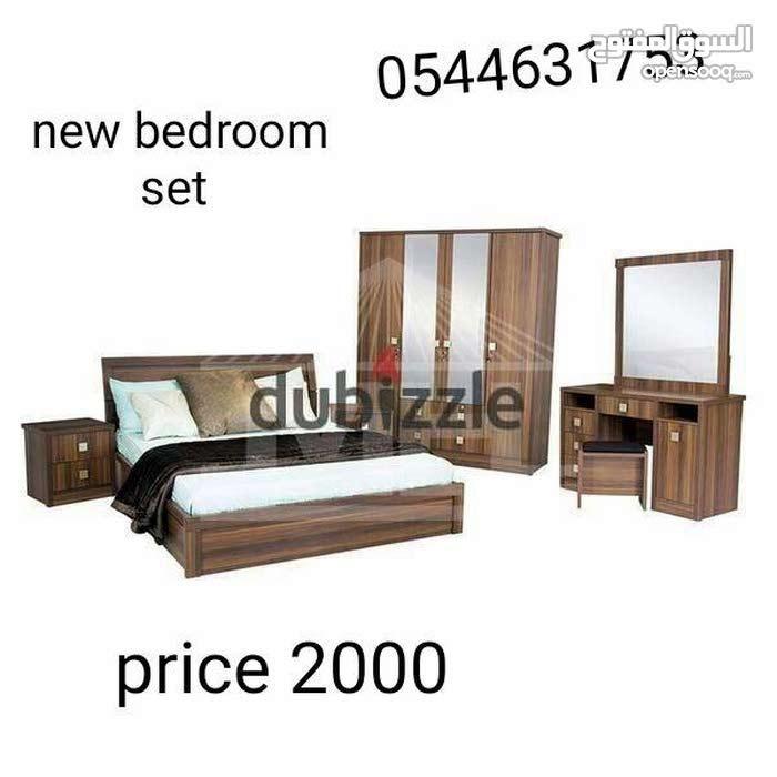 بيع غرفة نوم مجموعة جديدة قوية جدا الخشب لون البكر تايلاند متاح كثير مثل الأسود