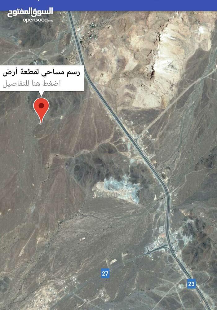 أرض للبيع في ولاية المضيبي قرية الروضة مربع 12
