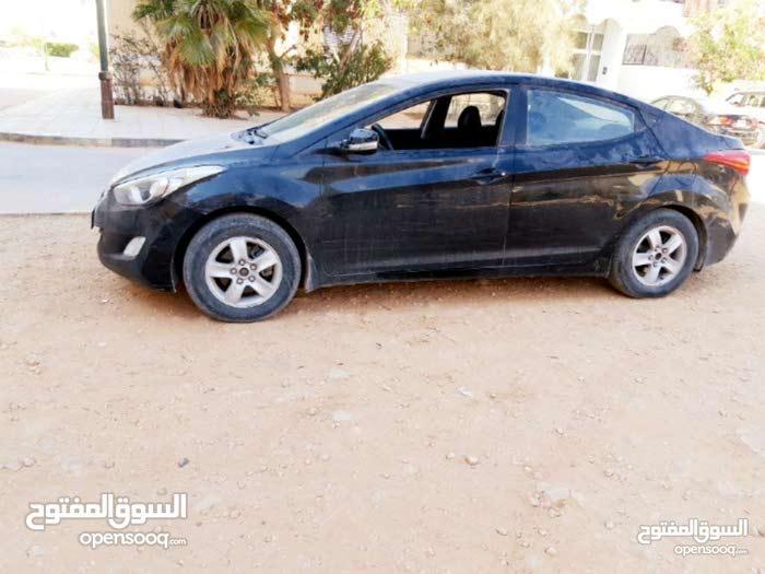 Hyundai Elantra in Benghazi