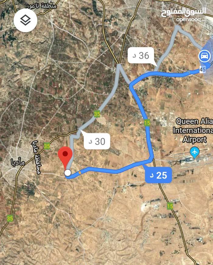 للبيع ارض 4.6 دونم في جلول جنوب عمان