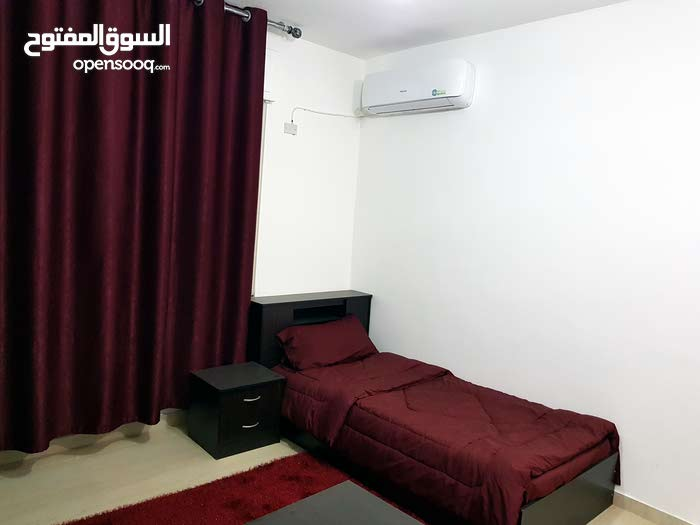 Jubaiha neighborhood Amman city - 18 sqm apartment for rent