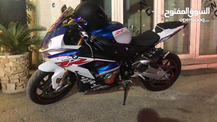 Used BMW motorbike up for sale in Amman
