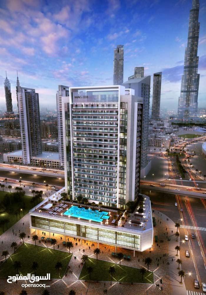 2BR Apartment With Burj Khalifa View at MAG 318