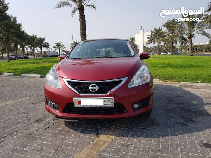 NISSAN TIIDA FULL OPTION 2014  FOR SALE