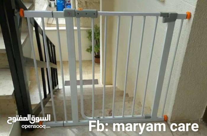 باب حماية للاطفال من دخول المطبخ او السقوط عن الدرج .تخت بيبي ..عرباي للاطفال انيقة.. خلاط شحن