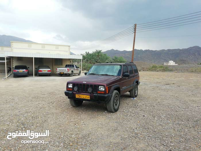 Jeep Cherokee 2001 For sale - Red color