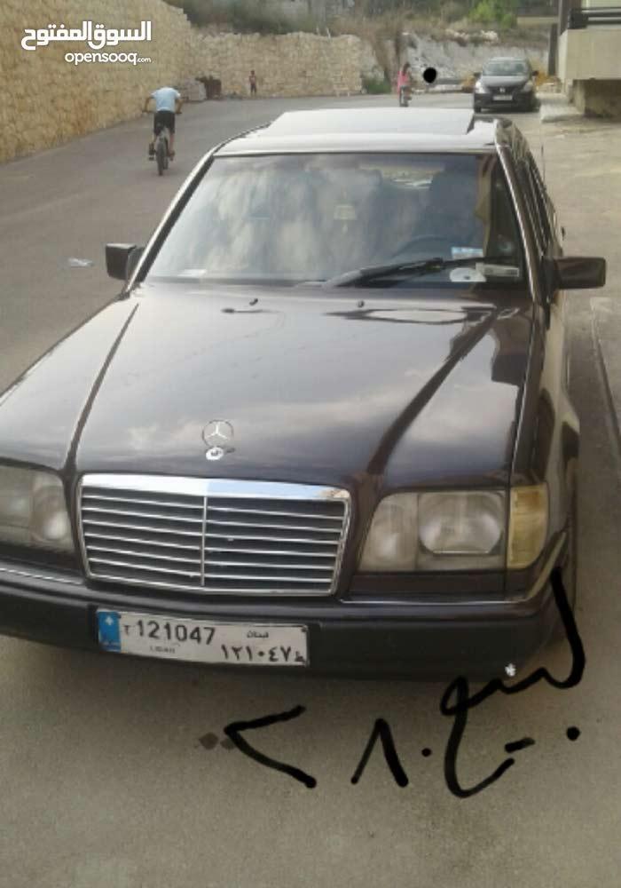 سيارة مرسيدس 280 صندوق 300 بحالة جيدة طرابلس موديل 1993