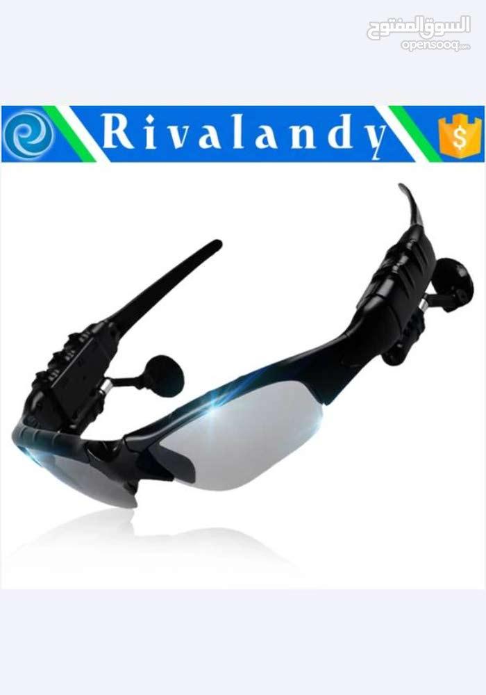 نظارات شمسية مع سماعات