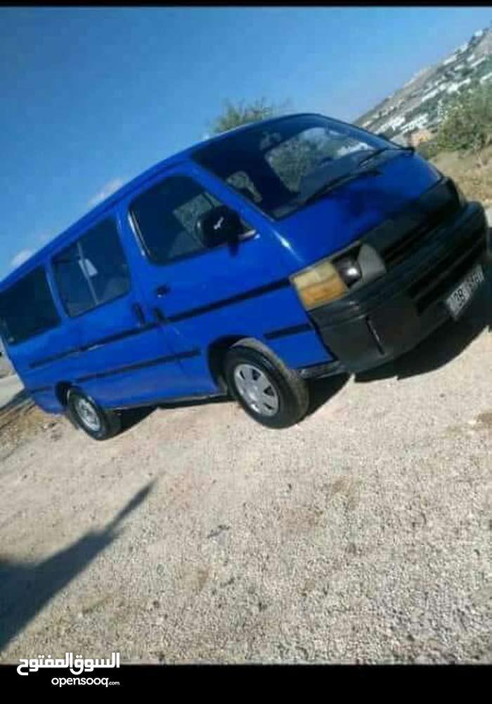 Blue Toyota Hiace 1995 for sale - (94206975)   Opensooq e0c520cc474