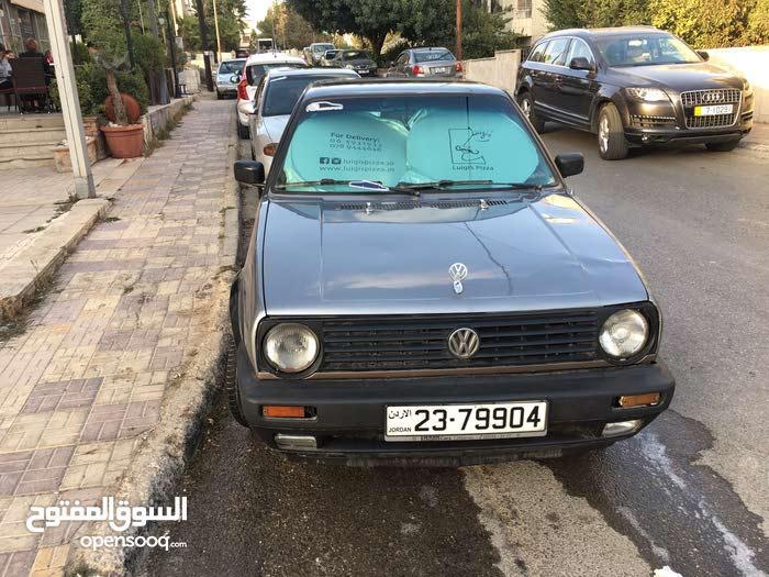 Manual Volkswagen Golf 1990