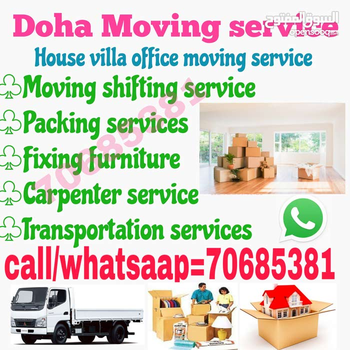 Doha Movers and packers service
