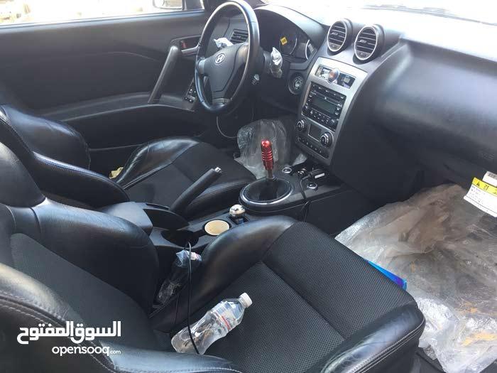 Hyundai Tuscani 2008 For sale - Black color