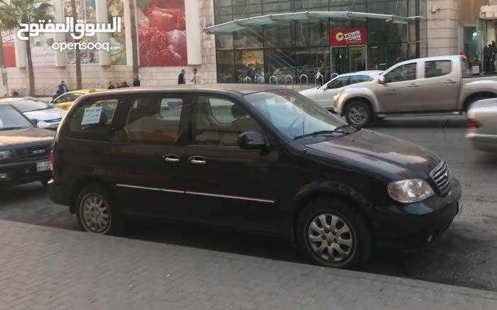 Black Kia Carnival 2003 for sale