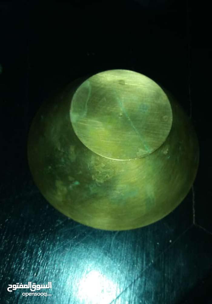 جبانية نحاسية قديمة جميلة لها قيمة تاريخية ثمن 300ذرهم
