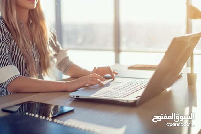 مسوقة الكترونية محترفة ابحث عن عمل بالعمولة