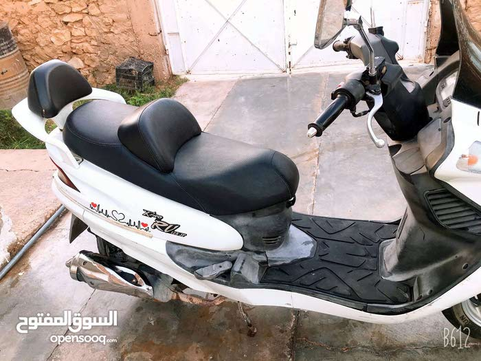 Used SYM motorbike made in 2012 for sale
