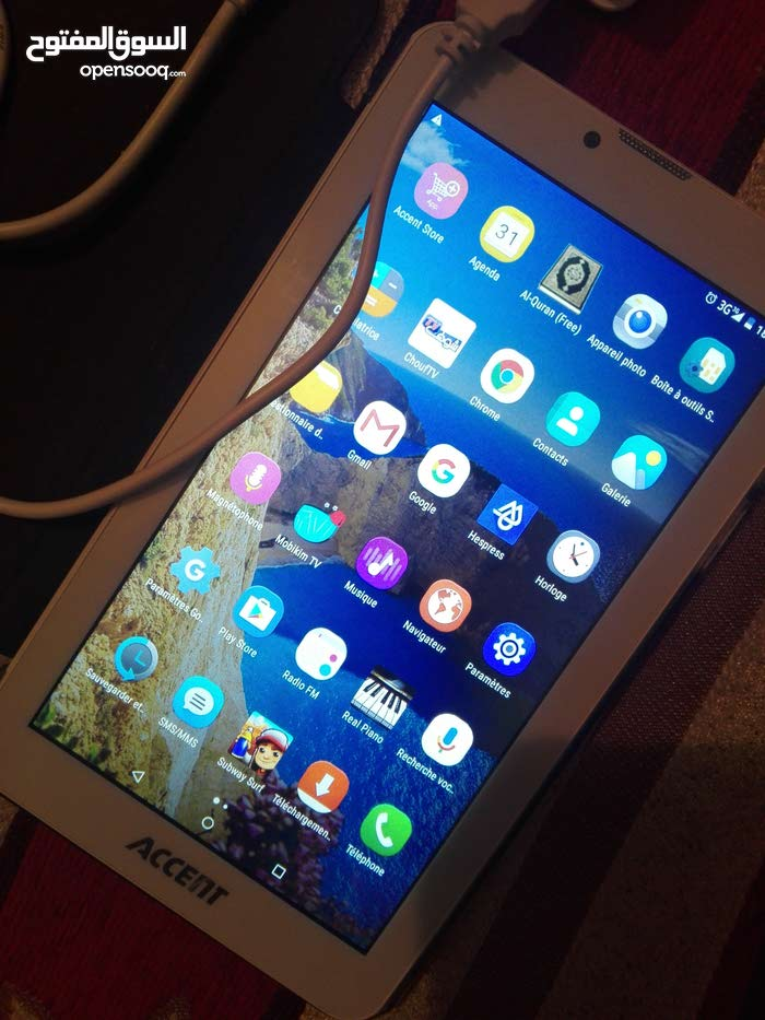 accent 7 fast tablette