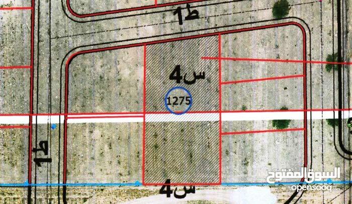 1275 متر مربع داخل مخطط السراج الجديد
