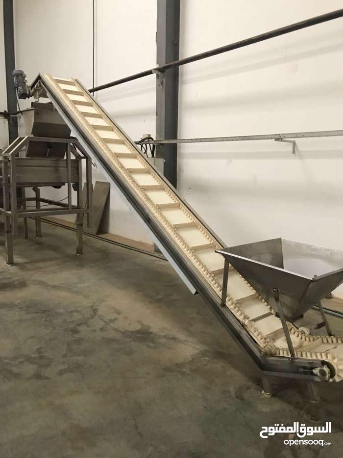 مصنع طحينة وحلاوة طحينية للبيع او للإيجار