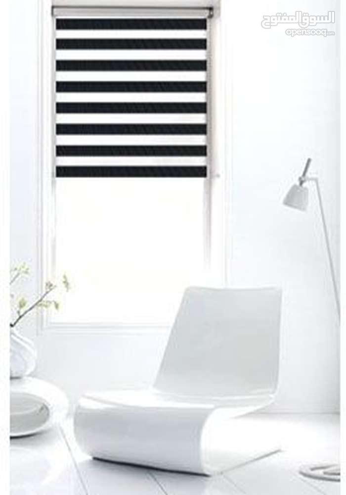 الستائر المعتمة لجميع غرف المنزل لمنع شعاع الشمس, اسود , المقاس 178*200 Y-11
