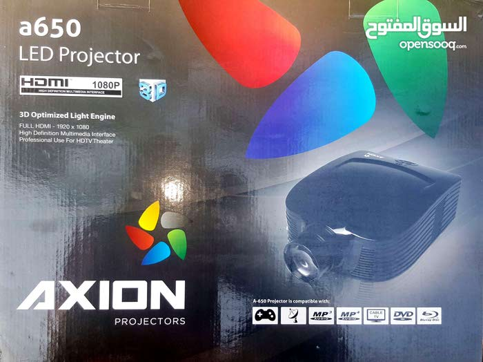 (Brand new) Axion LED projector model a650 3D