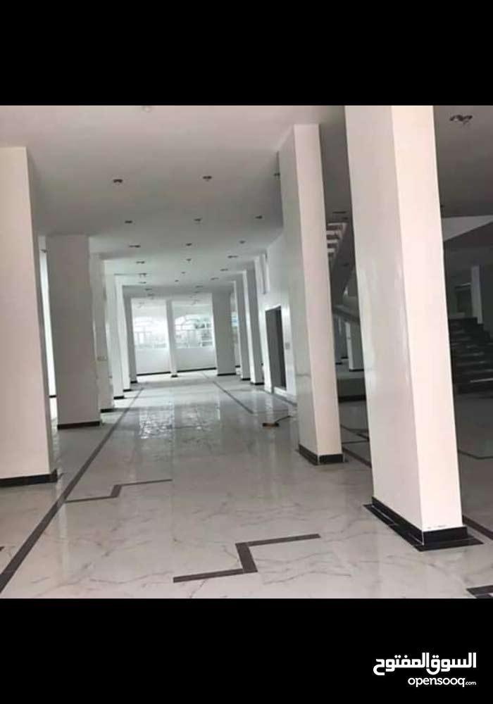 عماره للأيجار في محافظة إب مول تجاري بدروم مع الطابق العلوي