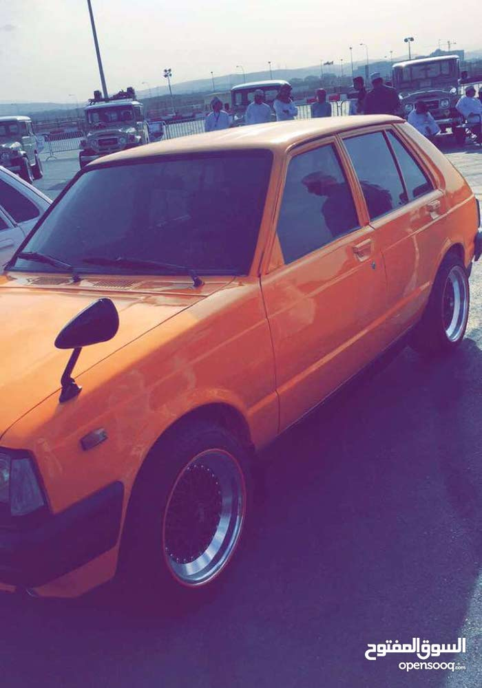 Used condition Toyota Starlet 1982 with +200,000 km mileage
