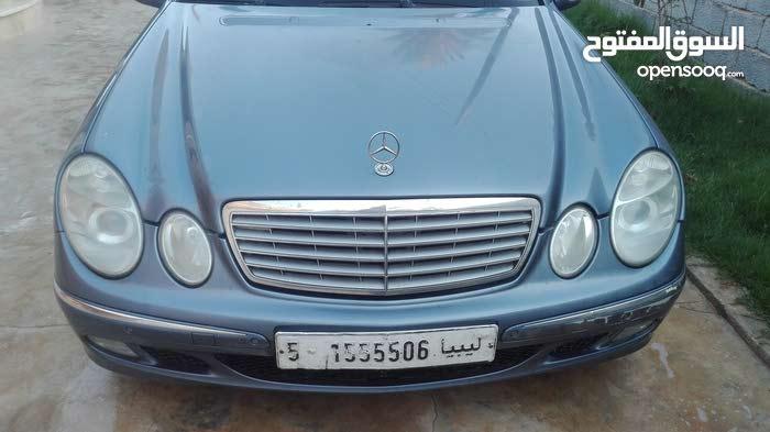 Mercedes Benz E 240 in Tripoli