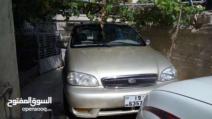 For sale 2001 Gold Carnival